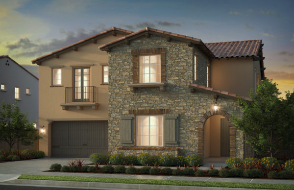 KB Home Genoa luxury residences at Orchard Hills in Irvine
