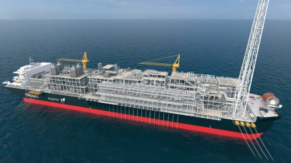 The Bacalhau oil field FPSO to be delivered by MODEC.