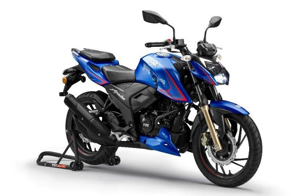 TVS Motor launches TVS Apache RTR 200 4V motorcycle in Nepal