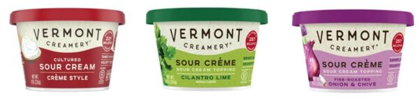 Vermont Creamery launches Cultured Sour Cream in US Northeast